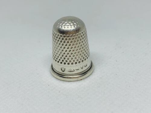 Full Hallmarked Antique Charles Horner Thimble Sterling Silver 5.30 grams #10373