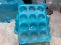 Three tier cupcake carrier - holds 36 cupcakes
