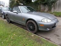 Mazda MX5 mx 5 mx-5. One of the last mk2.5's Limited edition 'ICON' 2005. 1600cc. Fab inside/out...