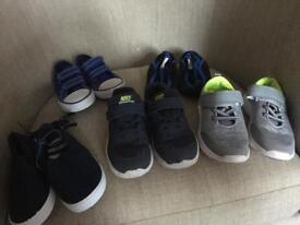 Boys shoes size 8 5 pairs