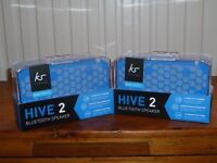 2 x Kitsound Hive 2 Bluetooth Speakers - £30.00 each