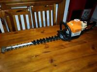 """stihl hs81rc 2013 pro hedge trimmer 24""""60cm double sided blade some as hs82,hs45,hs80"""