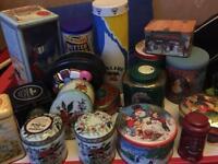 Storage tins