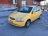 2006 Chevrolet Aveo LOW KMS - CERTIFIED & E-TESTED - NO ACCIDENT