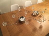 Set of 2 matching ceiling lights / light fittings