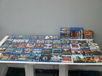 Blu rays x 84 (private collection as new)