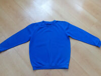 2 x school uniform jumpers 9-10 and 10-11 years