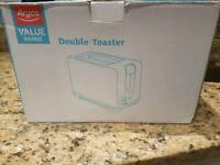 Argos double toaster