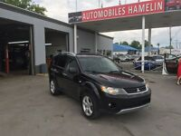 2007 Mitsubishi Outlander XLS CUIR TOIT MAGS 4X4 7 PASSAGERS