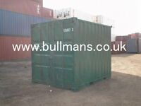 10ft shipping container, steel container, storage container, site container repainted / refurbished