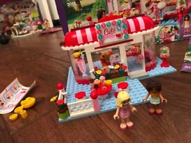 LEGO Friends 3061 City Park set with box and manual