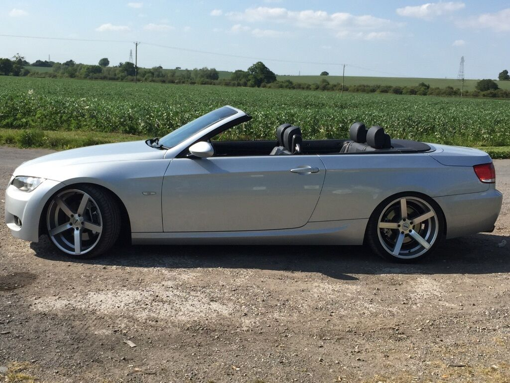 bmw 330d 330 m sport convertible 2007 e93 x5 m3 m5 in sinfin derbyshire gumtree. Black Bedroom Furniture Sets. Home Design Ideas