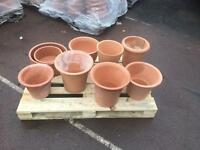 Yorkshire Clay Garden Pots £9.99 each
