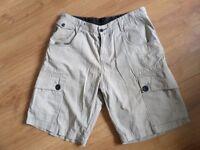"n4. mens quality designer shorts by LUKE W32""/34"""