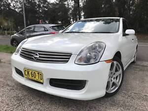 SPORTS Nissan Skyline Luxury LOW KS MAGS Leather 2 Keys CHEAP A1 Sutherland Sutherland Area Preview