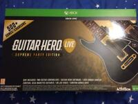 Guitar hero supreme party edition for Xbox one.