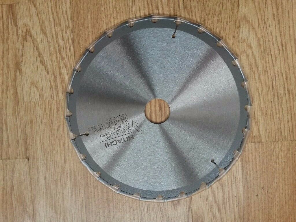 Hitachi chop saw blade 216x2.0x30 HW