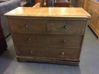CHARMING OLD CHEST OF DRAWERS (Delievry available)