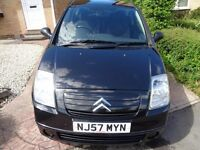 CITROEN C2 1.1 CC AIRPLAY PLUS, 3DR, HPI CLEAR , MILEAGE CHECKED, 68,000 MILES. IDEAL FIRST CAR.