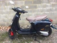 125cc scooter new 0 miles never used