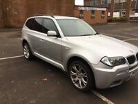 BMW X3 m///sport 2.0 Turbo diesel 4X4 Xdrive 09 reg mint condition inside & out