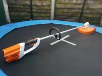 stihl fsa85 05.2016pro cordless grass trimmer,strimmer in perfect working condition