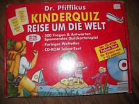 Kinderquiz - Reise um die Welt mit CD, Buch und Quizkarten - NEU Nordrhein-Westfalen - Ense Vorschau