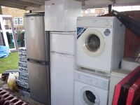large bundle of dryers and fridges most working grab a bargain