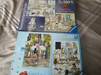 2 x 500 Jigsaw Brand New completed once – £3.00 each or £5.00 for pair.