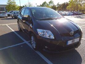 Toyota Auris 2009 LOW MILEAGE,BLACK