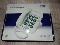 BT Big Button 100 Corded telephone - as new