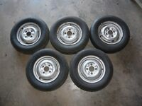 Wheels and Tyres Ford Escort MK 1 - 155 SR 12