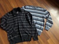 2 MENS JUMPERS FROM NEXT AND MAINE SIZE S/M