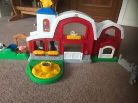Fisher Price Little People Farm playset with sounds