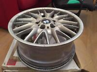 BMW genuine MV 1's. 18 inch. Front/ Rear drivers alloys.