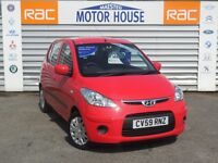 Hyundai i10 ES (£30.00 ROAD TAX) FREE MOT'S AS LONG AS YOU OWN THE CAR!!! (red) 2009