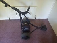 Slazenger Electric Golf Trolley with Carry Bag