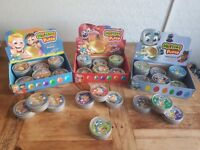MAGNETIC putty (includes magnet) GLITTER putty. BOUNCING putty. Lots of different colours