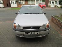 Ford Fiesta, 02 reg genuine mileage