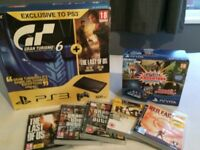 PS3 Super Slim and PSVita Slim Bundle with Games and Accessories