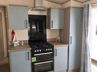 Brand new caravan for sale £49,995, inc fees, rates, ins, LONG SEASON, pet friendly, on the beach