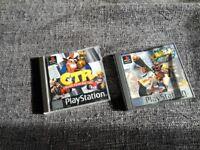 Crash bandicoot games ps1