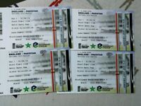 4 Tickets England v Pakistan 2nd Test @ Headingley - Day 1