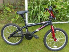 20 Inch Wheel BMX Bike Apollo Vendetta Red and Black. Very Good Condition. Manual provided.