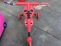 Red skuttlebug