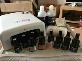Mylee Gel Nail Kit with extras