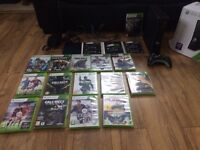 Xbox 360 4gb with controller and games