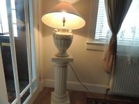 Lamp and matching stand