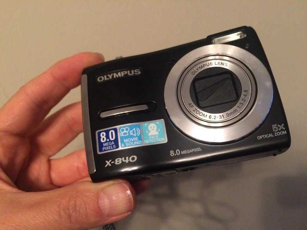 Olympus X 840 Digital Camera In Perfect Working Order All Of A Attachments Flash Sale