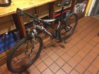 """Scott Voltage MX1 mountain bike. 17"""", 24 speed, front suspension. 2002 model"""